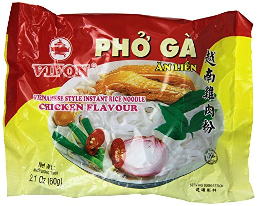 24 BAGS INSTANT RICE NOODLE CHICKEN FLAVOUR or PHO GA