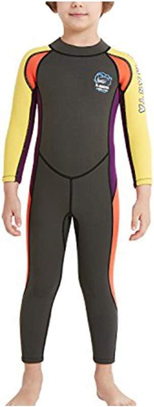 TENMET Kids Full Wetsuit 2.5mm favorite Neoprene Thermal Bodysuit Pie Ranking TOP16 One