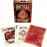 Bicycle 023174–Elements Series: Fire Juego de Cartas