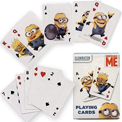 Despicable Me Minions Jumbo Playing Cards