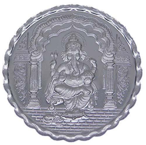 Shree ramesh chand ji kadel & son's. 10gm Silver GANESH ji coin (999 purity)