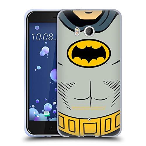 Head Case Designs sous Licence Officielle Batman TV Series Costume Logos Coque en Gel Doux Compatible avec HTC U11 / Dual