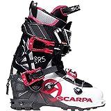 SCARPA GEA RS Alpine Touring Boot - Women's White/Black/Warm Red, 22.5