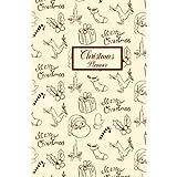 Christmas Planner: Christmas, budget tracker, gift list, online order tracker, Black Friday preparation, menu planners, gift lists