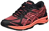 ASICS Gel-DS Trainer 21, Zapatillas de Running Mujer, Negro (Black/Flash Coral/Silver), 37 EU