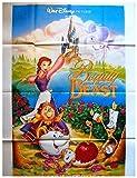 La Belle et la Bête Affiche Cinéma Originale (Format 160x120 cm Pliée) Version Anglaise