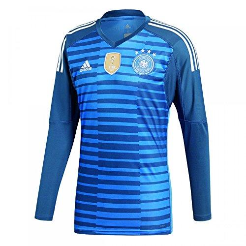 adidas Herren DFB Torwart WM 2018 Heim Langarm-Trikot, Trace Royal/Sub Blue/White, L