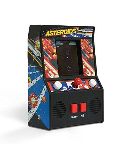 Basic Fun Classics Asteroids-Mini Gioco Arcade retrò, Colore Nero, 09542