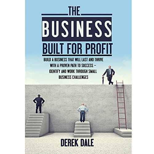 The Business Built for Profit audiobook cover art