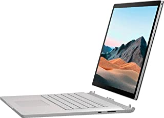 Microsoft Surface Book 3 Convertible Notebook, Intel 4 Core 10th Gen i7 1065G7 1.3Ghz, 32GB, 1TB SSD, 15.5 Touchscreen, Ge...