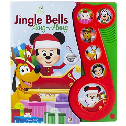 Disney Baby Mickey Mouse Christmas Jingle Bells Sing Along Song Book Pi Kids