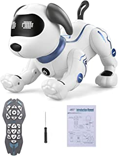 LE NENG TOYS K16A Electronic Pets Robot Dog Stunt Dog Voice Command Programmable Touch-sense Music Song Toy for Kids Birth...