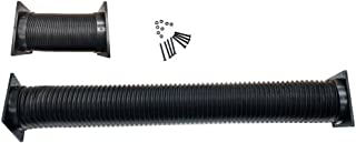 Coolerguys Thermal Plastic Duct with End Caps for Electronics and Crypto Mining (92-120mm Fan/4