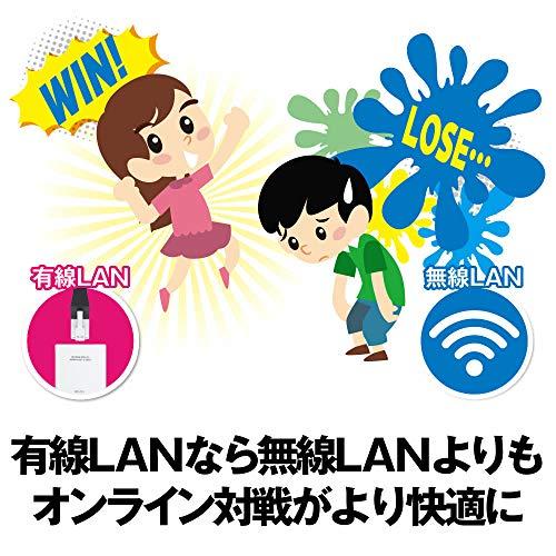 『BUFFALO 有線LANアダプター LUA3-U2-ATX 10/100M USB2.0 【Nintendo Switch動作確認済み機器】』の3枚目の画像