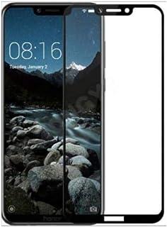 شاشة حماية شفافة من الزجاج المقوى لهاتف هواوي هونر بلاي- اسود