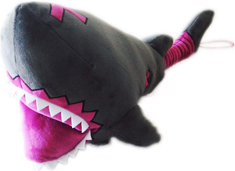 DIEIGEIHAO Shark hammer COS weapon stick prop pillow toy, 80cm
