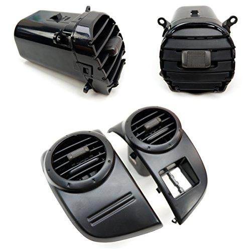 Powerwarauto Air Vent Ventilator Complete Black for Isuzu D-Max Holden Rodeo 2007 2008 2009 2010 2011