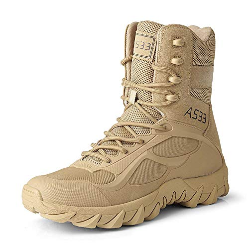 Mens Military Tactical Boots Army Jungle...