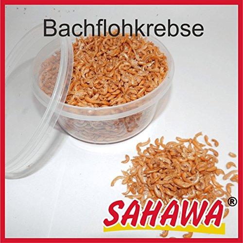 SAHAWA Zierfischfutter 400 ml Dose Gammarus Bachflohkrebse