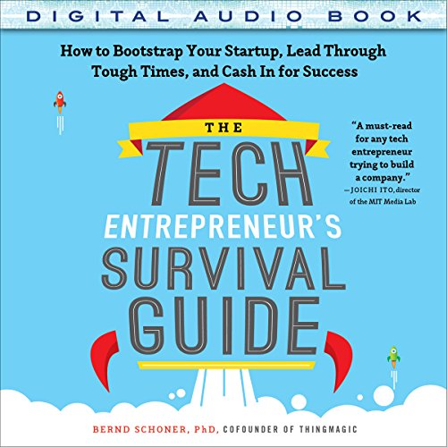 The Tech Entrepreneur's Survival Guide audiobook cover art