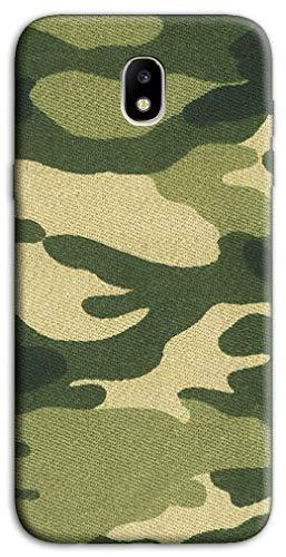 Mixroom - Cover Custodia Case in TPU Silicone Morbida per Samsung Galaxy J3 Edizione 2017 M729 Militare Fantasia Tela