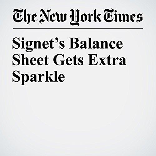 Signet's Balance Sheet Gets Extra Sparkle copertina