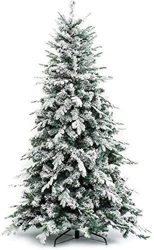 XONE Albero di Natale Innevato Alaska 300 cm - Effetto Realistico