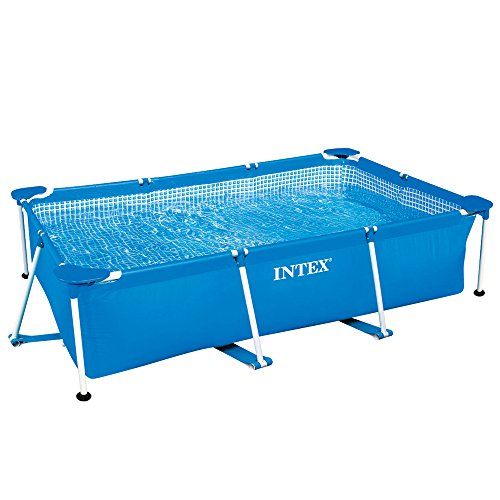 INTEX Piscine Metal Frame Junior rectangulaire 2,60 x 1,60 x...