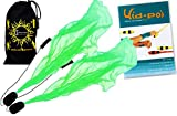 Flames N Games Paire de Bolas ANGEL POI (UV Vert) + KID Poi DVD (en...