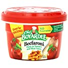 Chef Boyardee Beefaroni, 7.5-Ounce Microwavable Bowls (Pack of 12)
