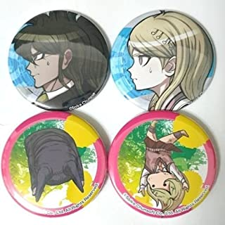 Danganronpa V3 Can Badge Button x4 Gonta Gokuhara Kaede Akamatsu Ryoma Hoshi