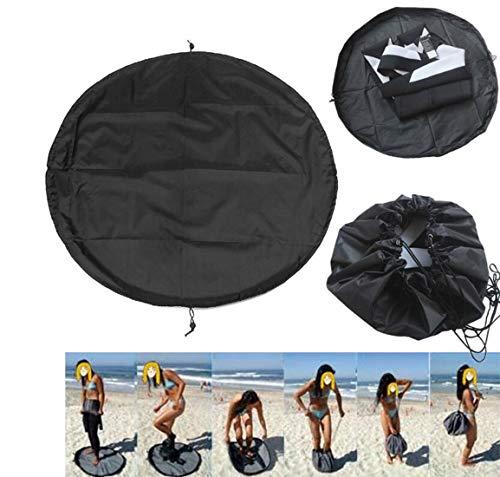 KUNANG Bolsas de almacenamiento para traje de baño, traje de buceo, playa, surf, traje de baño, ropa rápida, impermeable, cubierta de almacenamiento cuidadosamente (XL)
