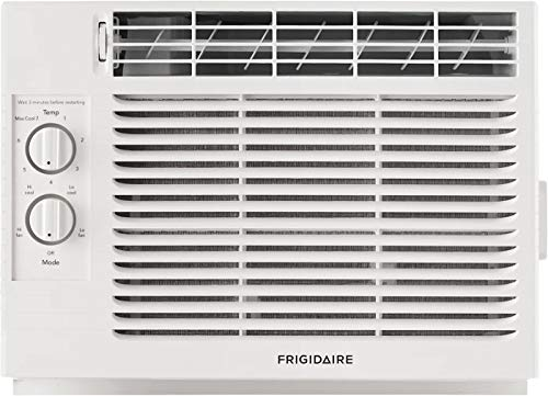 "FRIGIDAIRE White FFRA051ZA1 17"" Window Air Conditioner with 5000 BTU Cooling Capacity-115V"