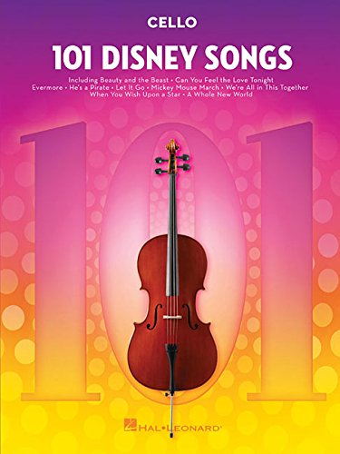 101 Disney Songs -For Cello-: Noten, Sammelband für Cello