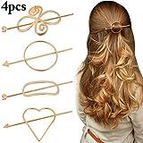 Geometric Hair Clips Fascigirl Pcs