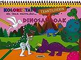 Dinosauroak (Koloreztatu txantiloiekin)