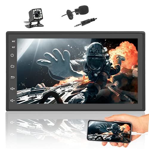 Podofo Android Car Stereo with GPS Navigation Backup...