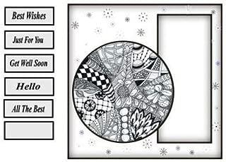 Zentangle tarjeta por Gail Collins