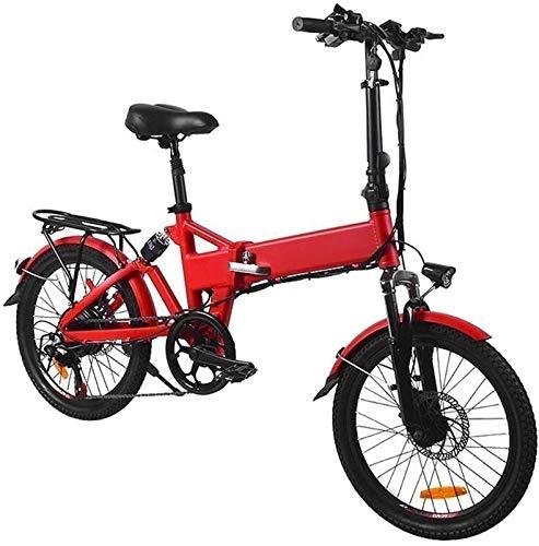 Alta velocidad Bicicleta eléctrica Bicicleta plegable de aluminio de 20 pulgadas de...