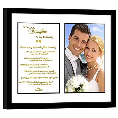 Daughter Wedding Gift from Parents, Touching Poem from Mom and Dad –...