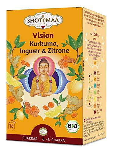 Shoti Maa Shot, Maa Bio-Ayurveda-Tee Vision - Kurkuma, Ingwer & Zitrone, 32 g