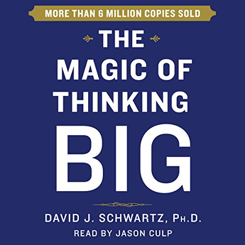 Page de couverture de The Magic of Thinking Big
