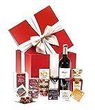 Ducs de Gascogne - Coffret gourmand 'Le Cube à délices' - comprend 13 produits dont une spécialité au foie gras et un vin rouge - spécial cadeau (946411)