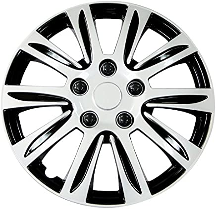 Pilot WH547-14S-B Universal Fit Premier Toyota Camry Style Silver 14 Inch Wheel