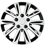 xd wheels 16 - Pilot WH547-16S-B Universal Fit Premier Toyota Camry Style Silver 16 Inch Wheel Covers - Set of 4