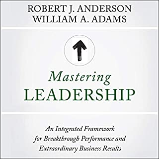 Mastering Leadership audiobook cover art