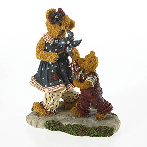 Enesco Boyds Bears Friends of Boyds 12' Member's Only Figurine Title: Suzie B with Benjamin