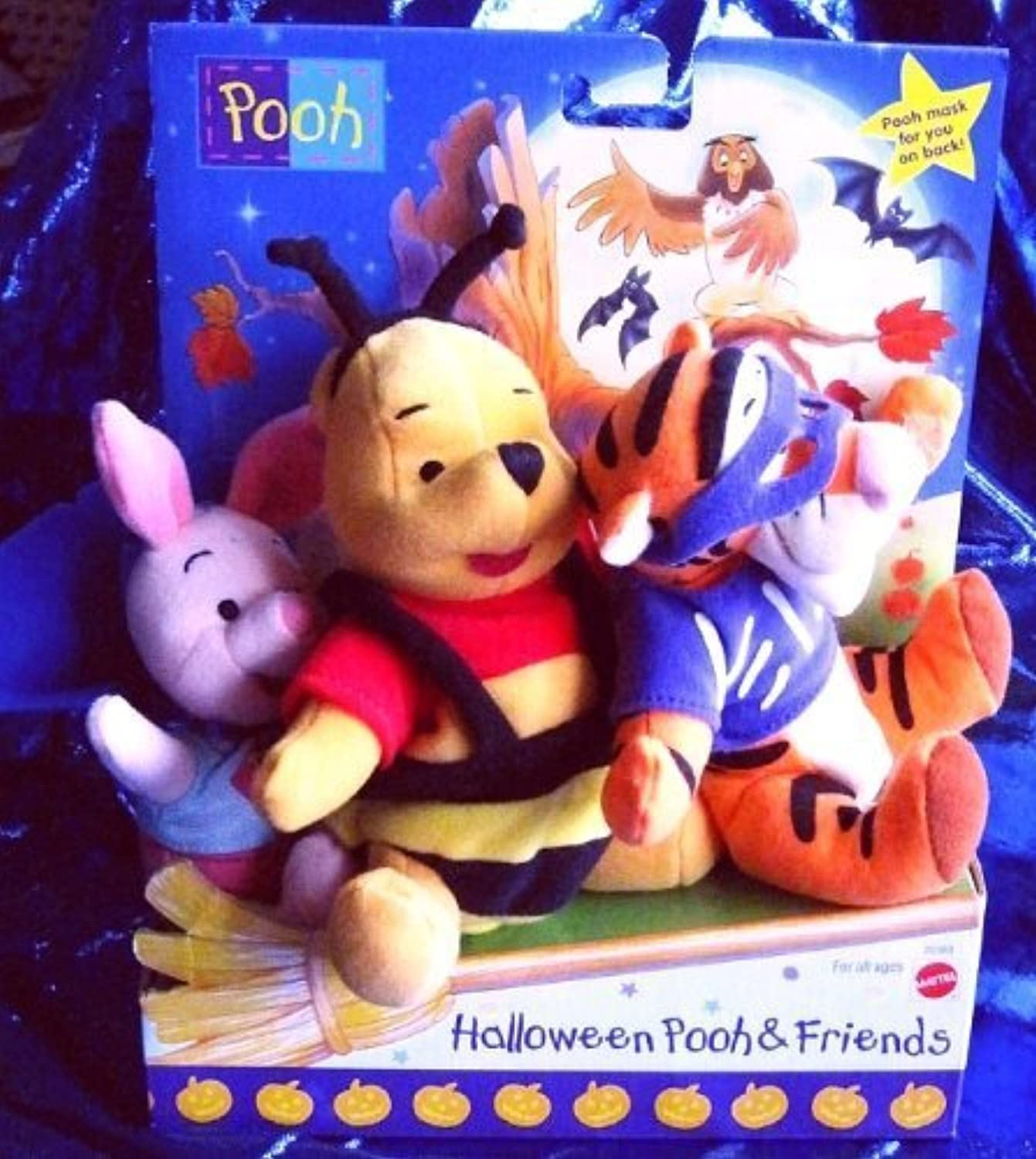 Halloween Pooh & Friends (Winnie the Pooh, Tigger & Piglet all in Halloween Costumes) by Winnie the Pooh