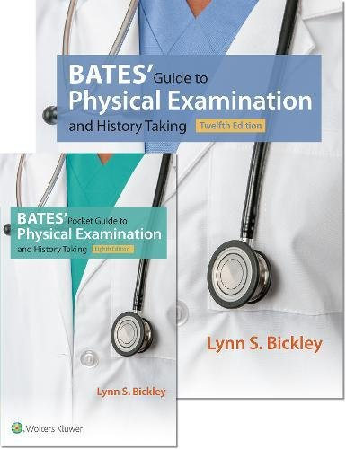 Bates' Guide 12e and Bates' Pocket Guide 8e Package(Hardcover and Paperback)