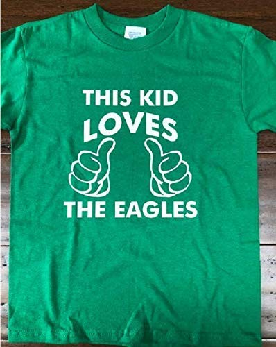 This kid loves the Manufacturer direct New color delivery Eagles eagles boys shirt toddler tshirt
